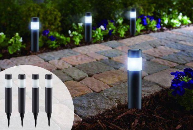 Luci da giardino offerte faretti illuminazione giardino per bagni