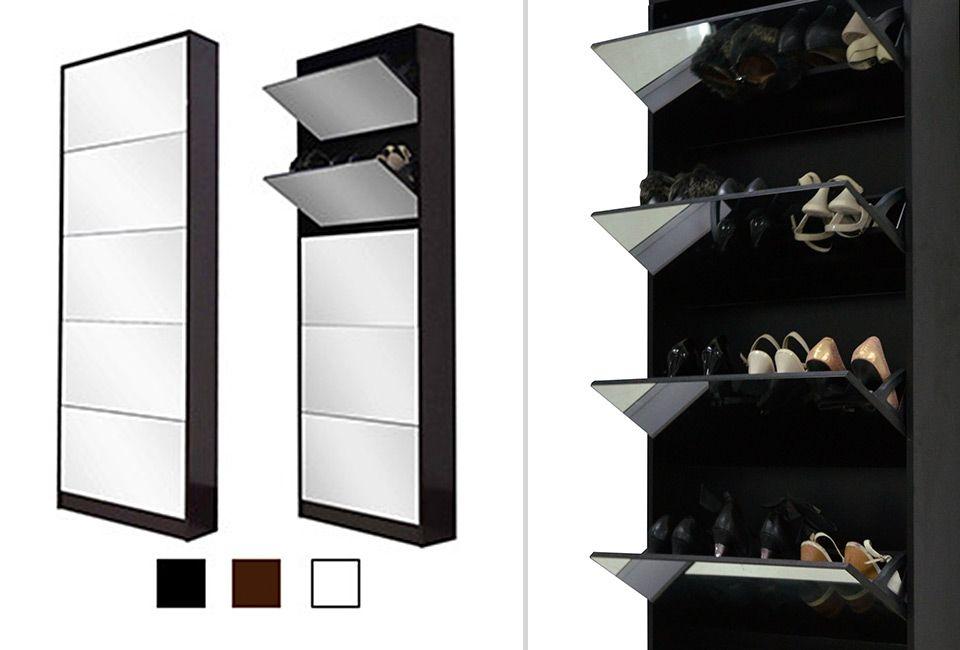 Meuble A Chaussures Avec Miroir Outspot
