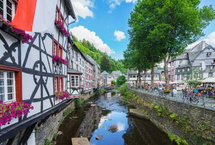 Ontspannen in Monschau, de parel van de Eifel