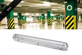 LED-Röhre mit oder ohne Armatur