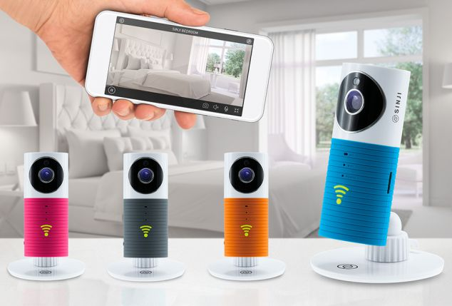 Sinji : caméra d´intérieur intelligente Wi-Fi