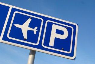 Parking op Schiphol voor de auto