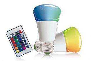 Kleurveranderende LED-gloeilamp