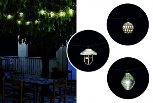 Decoratieve LED-tuinslingers