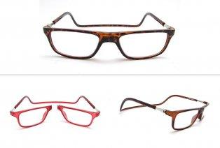 Magnetische Brille