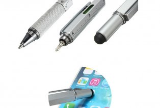 Multifunktionaler 5-in-1 Stift