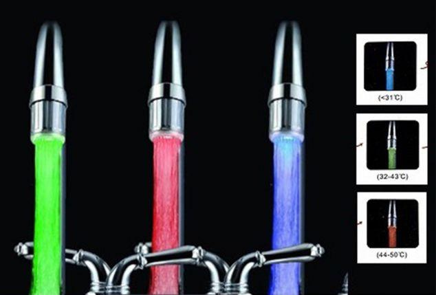 Rubinetto Led Come Funziona.Filtro Per Rubinetto A Led Outspot