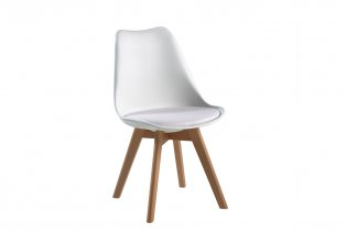 Lot de 2 chaises design