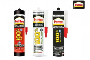 Lot de 3 tubes de colle de montage Pattex