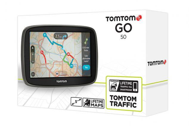 TomTom Go50 GPS met kaart van 45 landen en verkeer