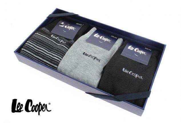 Coffret cadeau comprenant 3 paires de chaussettes homme - Outspot 8ec33be1d4e