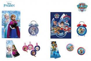 Set de regalos para niños: Frozen o Paw Patrol