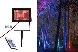 LED-Farbenspot