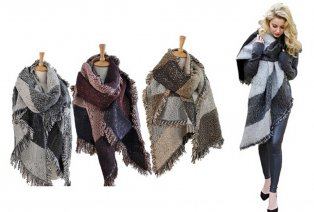 Warme Pashmina-sjaal