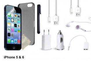 Pack de accesorios para iPhone o Samsung