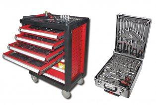 Caja o carro de herramientas