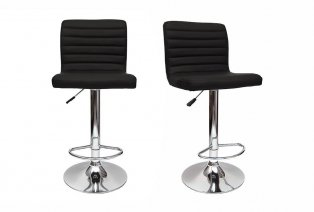 Lot de 2 tabourets de bar