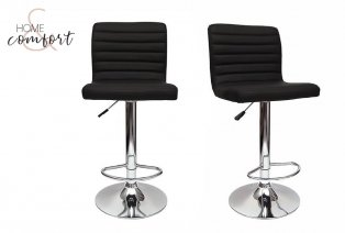 Zestaw 2 krzeseł barowych