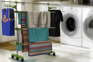 Multifunktionaler Wäscheständer