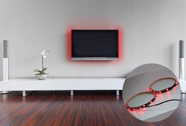 Ledstrip voor comfortabel televisiekijken