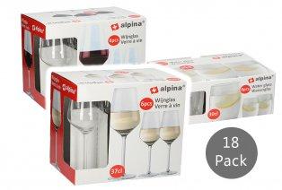 Set de 18 verres
