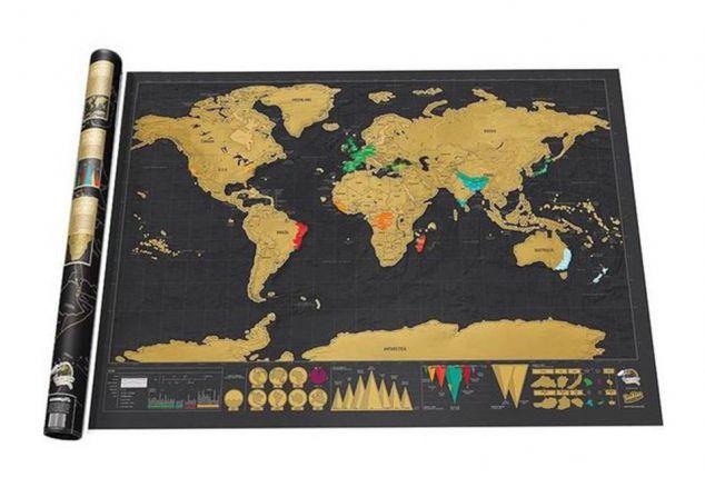 Carte du monde ? gratter
