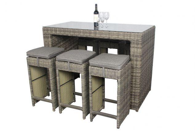 Tavolo e sedie da bar outspot