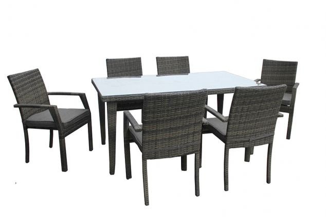 Set tavolo e sedie per giardino o terrazzo outspot