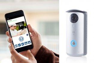 Timbre para puerta con wifi y cámara
