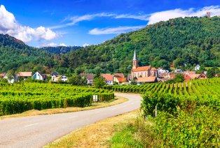 De wijnroutes van de Elzas