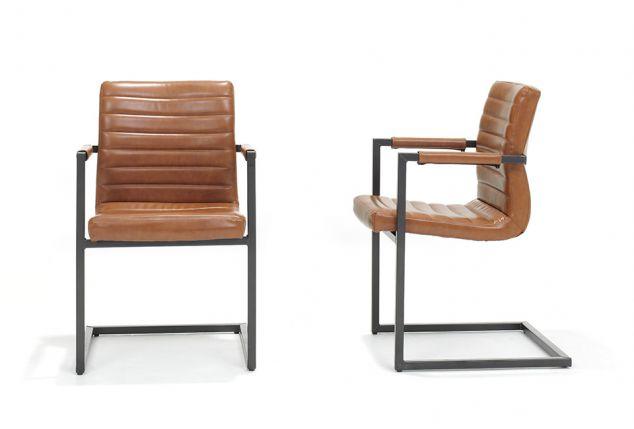 Set van 2 vintage industriële stoelen outspot