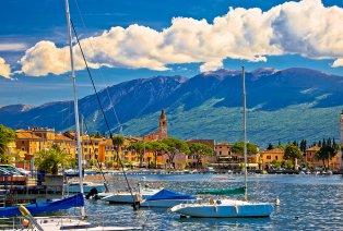 Estancia en un hotel con vista al lago de Garda