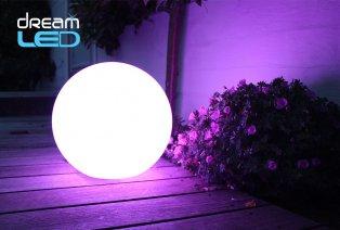 Boule, cube ou cube avec seau à glace lumineux LED
