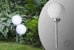 Solar-Kugelleuchte Ball für Garten