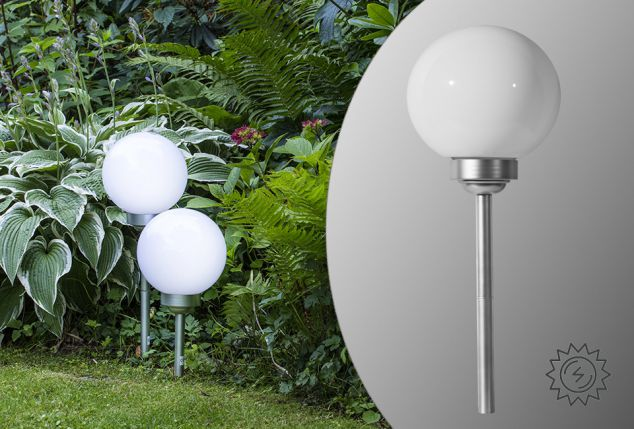 Lampada da giardino solare outspot - Renna natalizia luminosa per giardino ...