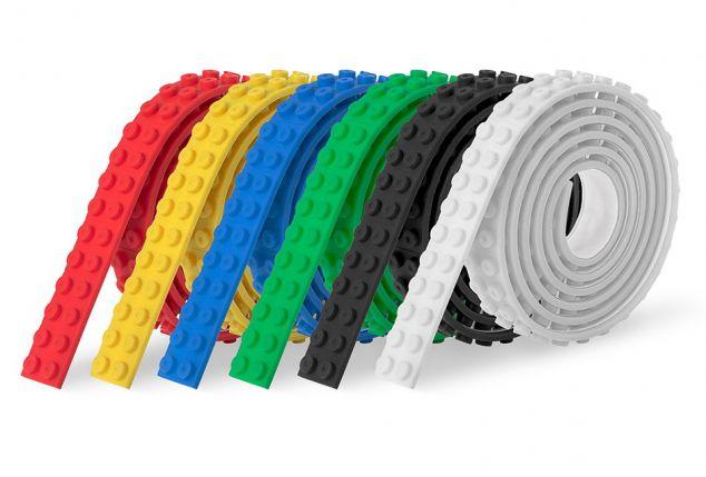 Ruban adhésif compatible avec les blocs et constructions LEGO