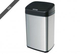 Cubo de basura con sensor de infrarrojos