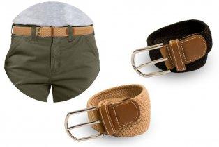 Elegante cintura intrecciata