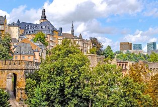 Weekend citytrip in Luxemburg-stad