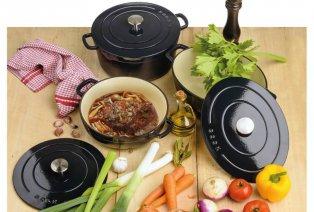 Gietijzeren kookpot en/of sauteerpan