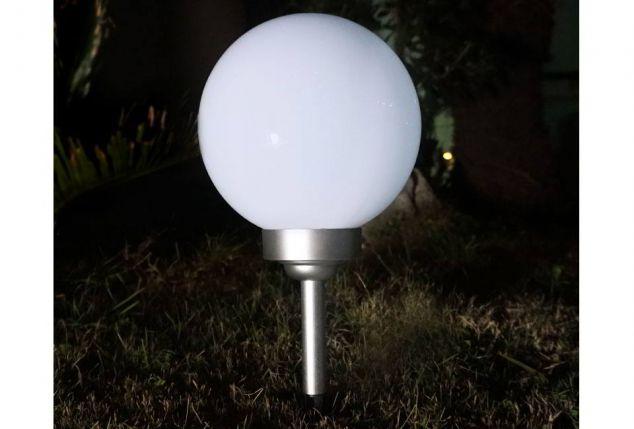 Solar Kugelleuchte Für Garten   Outspot