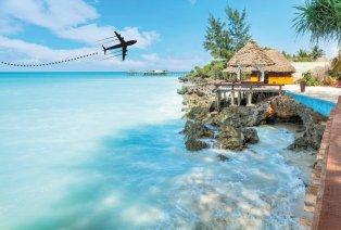 Zanzibar, vols et demi-pension inclus