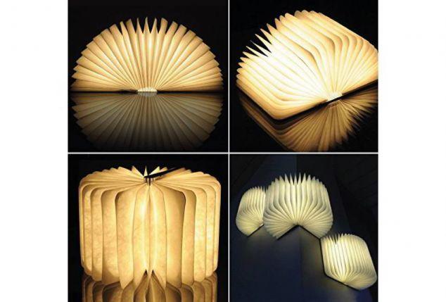Lampe Pliable Forme Outspot De Livre En Led b7y6gf