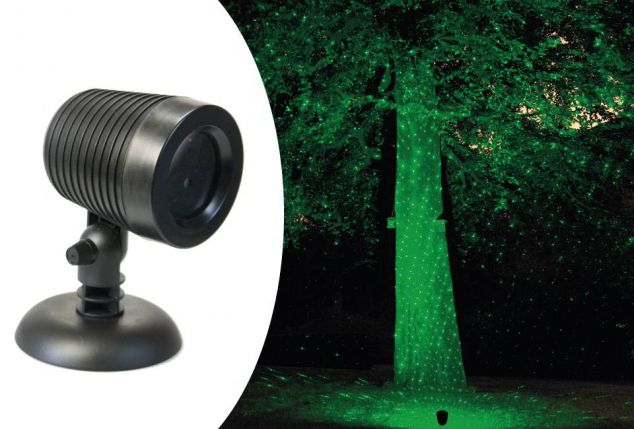 Led Weihnachtsbeleuchtung Laser.Wasserbeständige Laser Led Lampe Outspot