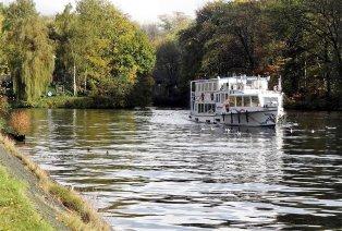 Promenade en bateau en Campine