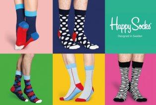 Pacchetto sorpresa con 6 paia di Happy Socks