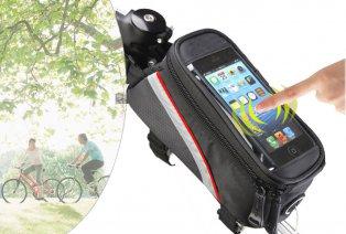 Frame bag for bicycle