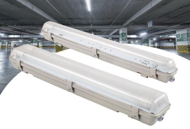Lampada led fluorescente tubolare outspot for Lampada tubolare led