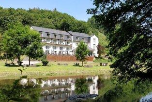 Viersterrenhotel in Luxemburg aan de oevers van de Sûre