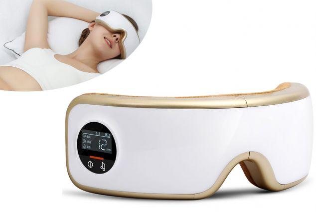 2043b2083c431 Appareil de massage pour combattre la fatigue des yeux